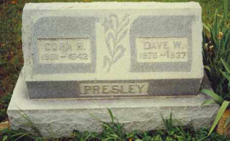 PRESLEY, WILLIAM DAVID - Baxter County, Arkansas | WILLIAM DAVID PRESLEY - Arkansas Gravestone Photos