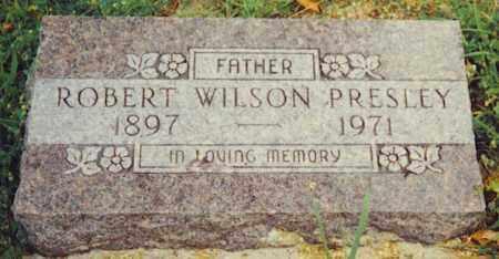 "PRESLEY, ROBERT WILSON ""WILSON"" - Baxter County, Arkansas   ROBERT WILSON ""WILSON"" PRESLEY - Arkansas Gravestone Photos"