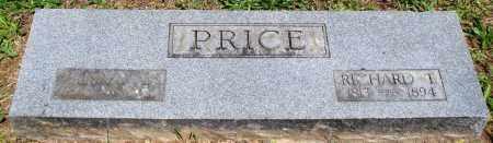 PRICE, RICHARD T - Baxter County, Arkansas | RICHARD T PRICE - Arkansas Gravestone Photos