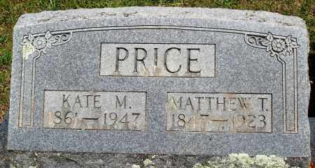 PRICE, KATE M - Baxter County, Arkansas | KATE M PRICE - Arkansas Gravestone Photos