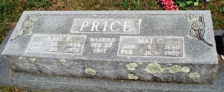PRICE, KATE E - Baxter County, Arkansas   KATE E PRICE - Arkansas Gravestone Photos