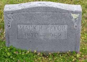 PRYOR, MACK R. - Baxter County, Arkansas | MACK R. PRYOR - Arkansas Gravestone Photos