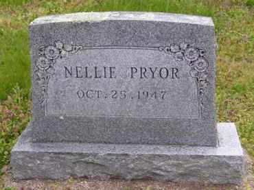 GAITHER PRYOR, NELLIE - Baxter County, Arkansas | NELLIE GAITHER PRYOR - Arkansas Gravestone Photos