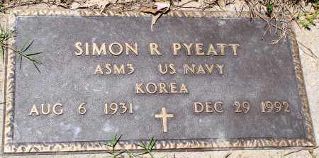PYEATT (VETERAN KOR), SIMON R - Baxter County, Arkansas | SIMON R PYEATT (VETERAN KOR) - Arkansas Gravestone Photos