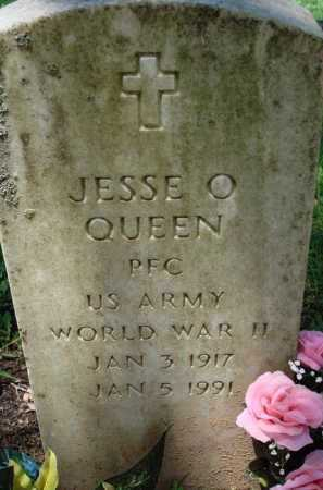 QUEEN  (VETERAN WWII), JESSE O. - Baxter County, Arkansas | JESSE O. QUEEN  (VETERAN WWII) - Arkansas Gravestone Photos