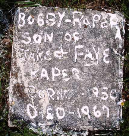 RAPER, BOBBY - Baxter County, Arkansas | BOBBY RAPER - Arkansas Gravestone Photos
