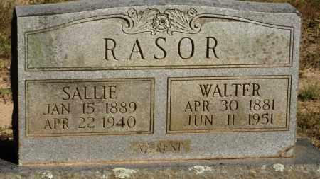 RASOR, SALLIE - Baxter County, Arkansas | SALLIE RASOR - Arkansas Gravestone Photos