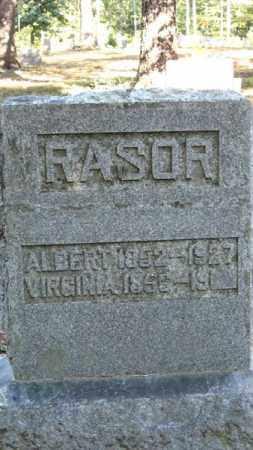 RASOR, VIRGINIA - Baxter County, Arkansas   VIRGINIA RASOR - Arkansas Gravestone Photos