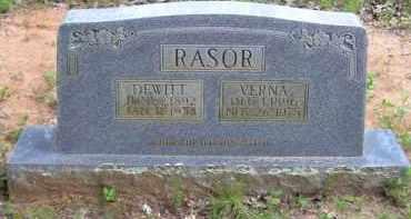 RASOR, VERNA ETHEL - Baxter County, Arkansas | VERNA ETHEL RASOR - Arkansas Gravestone Photos