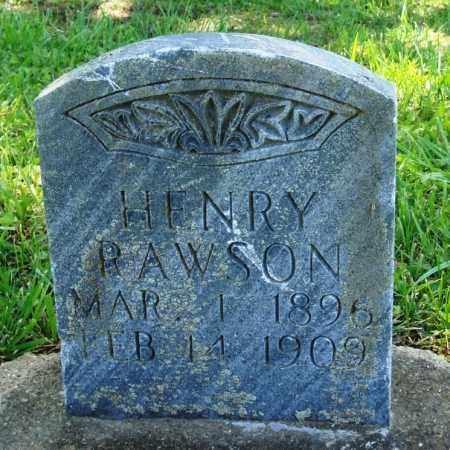 RAWSON, HENRY - Baxter County, Arkansas | HENRY RAWSON - Arkansas Gravestone Photos