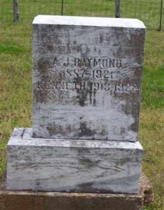 RAYMOND (2), KENNETH - Baxter County, Arkansas | KENNETH RAYMOND (2) - Arkansas Gravestone Photos