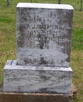 RAYMOND, ANDREW  J. - Baxter County, Arkansas   ANDREW  J. RAYMOND - Arkansas Gravestone Photos