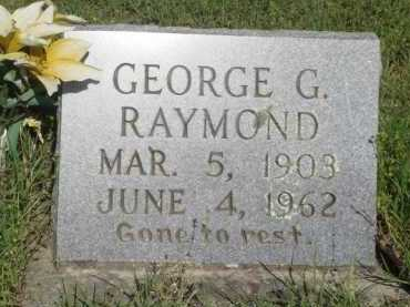 RAYMOND, GEORGE G. - Baxter County, Arkansas | GEORGE G. RAYMOND - Arkansas Gravestone Photos