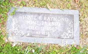 FRIX RAYMOND, WINNIE F. - Baxter County, Arkansas | WINNIE F. FRIX RAYMOND - Arkansas Gravestone Photos