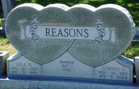 REASONS, LELA N - Baxter County, Arkansas | LELA N REASONS - Arkansas Gravestone Photos