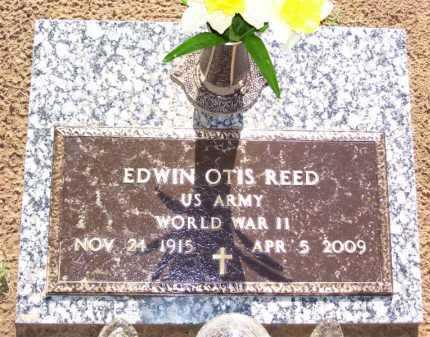 REED, JR (VETERAN WWII), EDWIN OTIS - Baxter County, Arkansas   EDWIN OTIS REED, JR (VETERAN WWII) - Arkansas Gravestone Photos