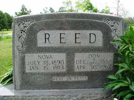 REED, DON - Baxter County, Arkansas   DON REED - Arkansas Gravestone Photos