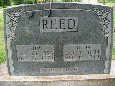 REED, RILDA - Baxter County, Arkansas | RILDA REED - Arkansas Gravestone Photos