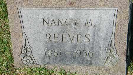 REEVES, NANCY M. - Baxter County, Arkansas | NANCY M. REEVES - Arkansas Gravestone Photos
