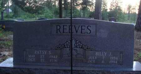 REEVES, PATSY S. - Baxter County, Arkansas | PATSY S. REEVES - Arkansas Gravestone Photos