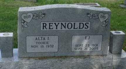 REYNOLDS, E. J. - Baxter County, Arkansas | E. J. REYNOLDS - Arkansas Gravestone Photos