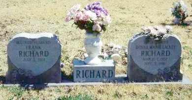 LACKEY RICHARD, DONNA MARIE - Baxter County, Arkansas | DONNA MARIE LACKEY RICHARD - Arkansas Gravestone Photos