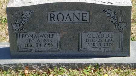 ROANE, EDNA - Baxter County, Arkansas | EDNA ROANE - Arkansas Gravestone Photos