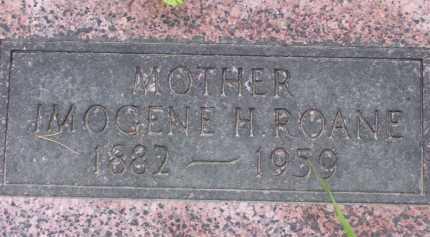 HATHAWAY ROANE, IMOGENE H. - Baxter County, Arkansas   IMOGENE H. HATHAWAY ROANE - Arkansas Gravestone Photos