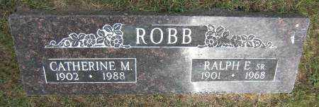 ROBB, CATHERINE M. - Baxter County, Arkansas | CATHERINE M. ROBB - Arkansas Gravestone Photos
