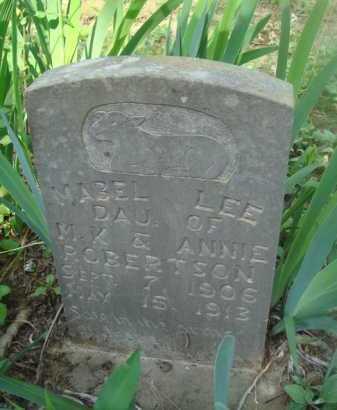 ROBERTSON, MABEL LEE - Baxter County, Arkansas | MABEL LEE ROBERTSON - Arkansas Gravestone Photos