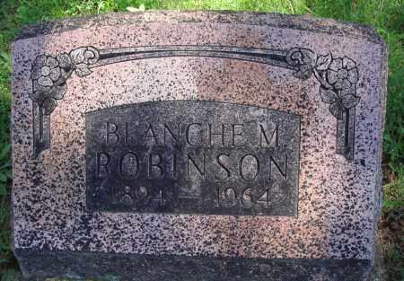 ROBINSON, BLANCHE M. - Baxter County, Arkansas | BLANCHE M. ROBINSON - Arkansas Gravestone Photos