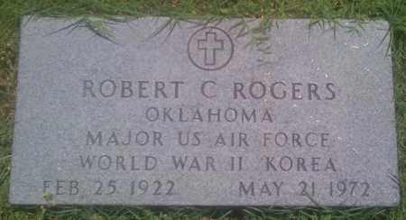 ROGERS  (VETERAN 2 WARS), ROBERT C. - Baxter County, Arkansas | ROBERT C. ROGERS  (VETERAN 2 WARS) - Arkansas Gravestone Photos