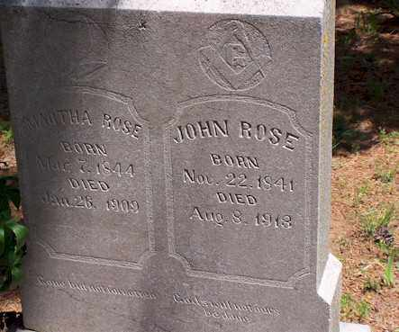 ROSE, MARTHA - Baxter County, Arkansas | MARTHA ROSE - Arkansas Gravestone Photos