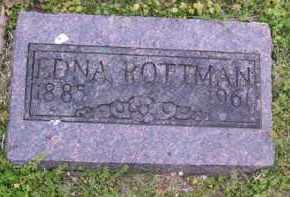 ROTTMAN, EDNA - Baxter County, Arkansas | EDNA ROTTMAN - Arkansas Gravestone Photos
