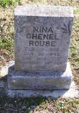ROUSE, NINA GHENEL - Baxter County, Arkansas | NINA GHENEL ROUSE - Arkansas Gravestone Photos