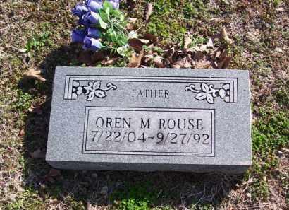 ROUSE, OREN M. - Baxter County, Arkansas | OREN M. ROUSE - Arkansas Gravestone Photos