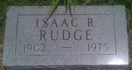 RUDGE, ISAAC R. - Baxter County, Arkansas | ISAAC R. RUDGE - Arkansas Gravestone Photos