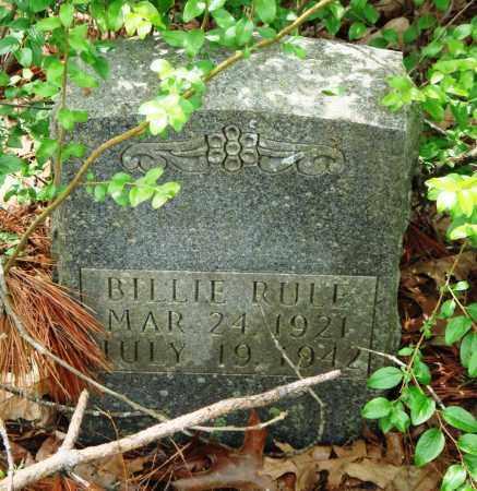 RULE, BILLIE - Baxter County, Arkansas | BILLIE RULE - Arkansas Gravestone Photos