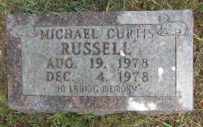 RUSSELL, MICHAEL CURTIS - Baxter County, Arkansas | MICHAEL CURTIS RUSSELL - Arkansas Gravestone Photos
