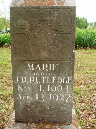RUTLEDGE, MARIE - Baxter County, Arkansas | MARIE RUTLEDGE - Arkansas Gravestone Photos