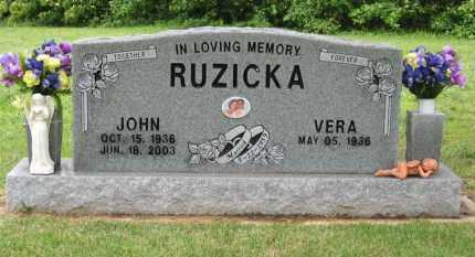 RUZICKA, JOHN - Baxter County, Arkansas | JOHN RUZICKA - Arkansas Gravestone Photos
