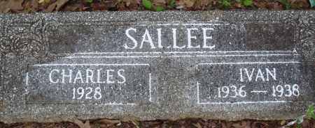 SALLEE, IVAN - Baxter County, Arkansas | IVAN SALLEE - Arkansas Gravestone Photos