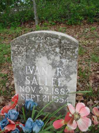 SALLEE, IVAN R - Baxter County, Arkansas | IVAN R SALLEE - Arkansas Gravestone Photos