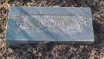 SAMMONS, JAMES H. - Baxter County, Arkansas | JAMES H. SAMMONS - Arkansas Gravestone Photos