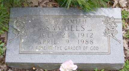SAMUELS, RUBY - Baxter County, Arkansas   RUBY SAMUELS - Arkansas Gravestone Photos