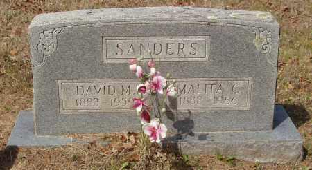 SANDERS, MALITA CYNTHIA - Baxter County, Arkansas | MALITA CYNTHIA SANDERS - Arkansas Gravestone Photos