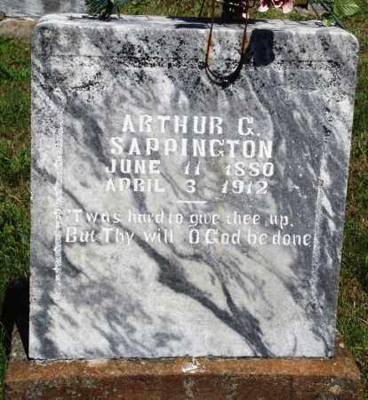 SAPPINGTON, ARTHUR C - Baxter County, Arkansas   ARTHUR C SAPPINGTON - Arkansas Gravestone Photos