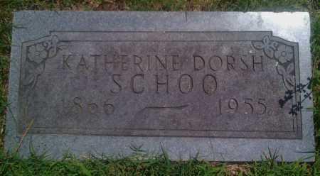 SCHOO, KATHERINE - Baxter County, Arkansas | KATHERINE SCHOO - Arkansas Gravestone Photos