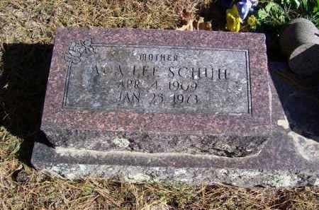 SCHUH, ADA LEE - Baxter County, Arkansas | ADA LEE SCHUH - Arkansas Gravestone Photos