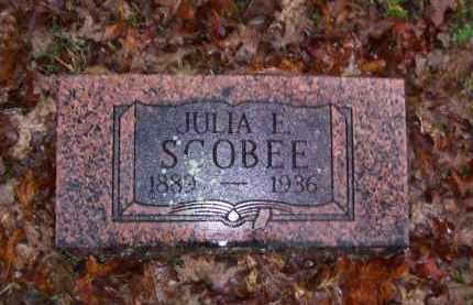 SCOBEE, JULIA E. - Baxter County, Arkansas | JULIA E. SCOBEE - Arkansas Gravestone Photos
